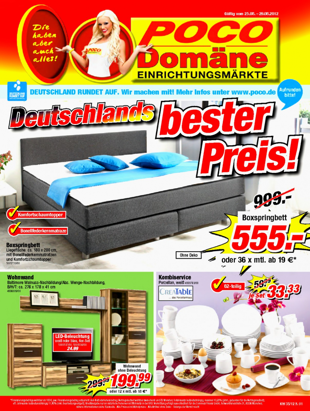 betten g nstige betten online bestellen poco von poco dom ne boxspringbett angebot bild haus. Black Bedroom Furniture Sets. Home Design Ideas