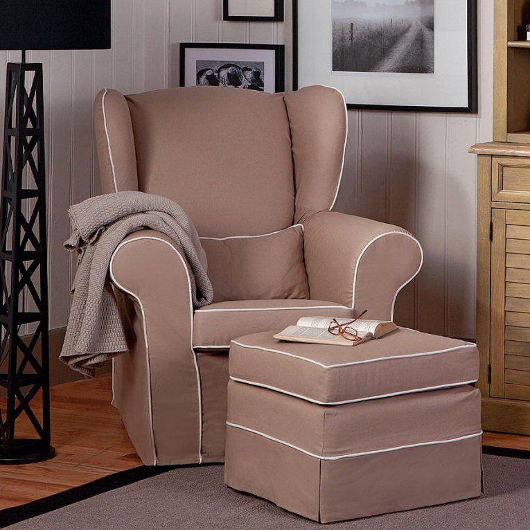 Elegante Ideen Sessel Mit Hocker Landhausstil Und Fantastische von Sessel Mit Hocker Landhausstil Bild