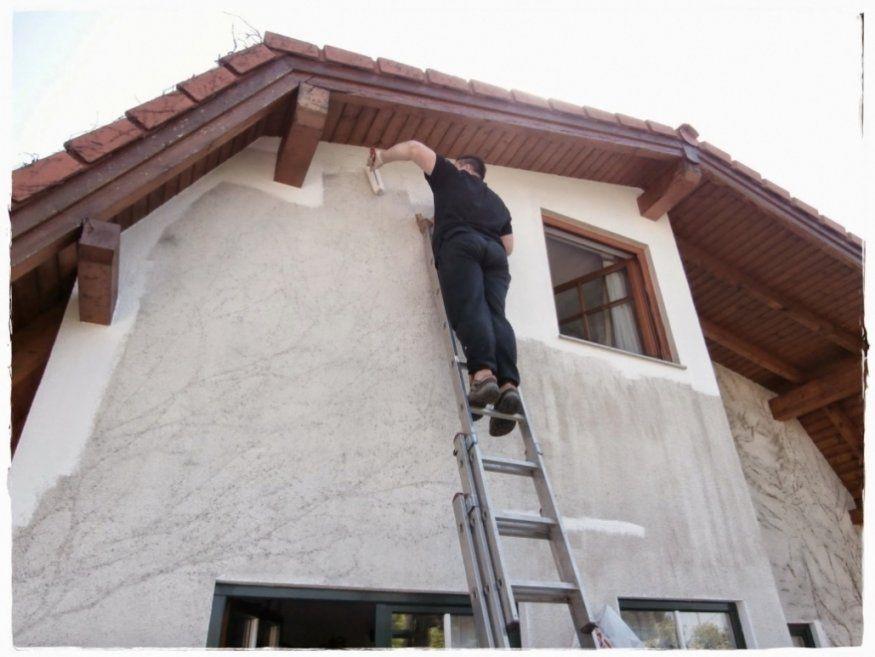 Elegantes Fassade Verputzen Kosten Wunderbar Fassade Neu Streichen von Fassade Verputzen Und Streichen Kosten Bild