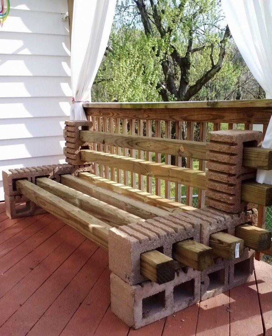 Elegantes Ideen Aus Holz Für Den Garten Ideen Gerumiges Holz von Holz Gartenbank Selber Bauen Bild