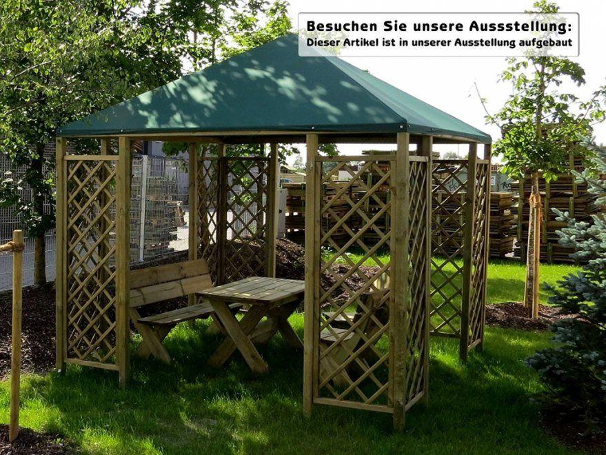 Elegantes Pavillon 6 Eckig Beeindruckend Holz Pavillon 3×3 Selber von Pavillon 6 Eckig Selber Bauen Bild