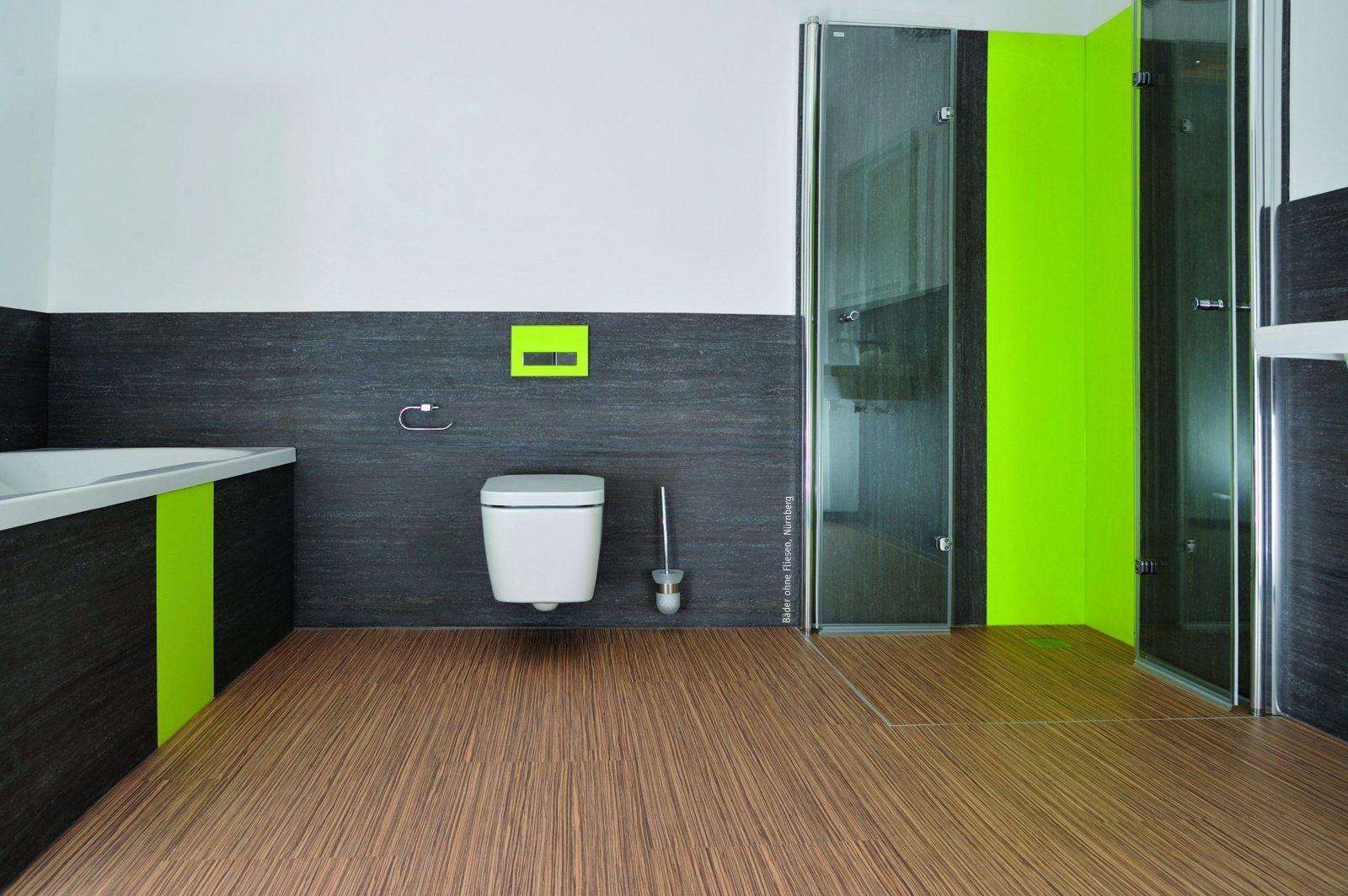 Erstaunlich Badgestaltung Ohne Fliesen Bad Fliesen Wandgestaltung von Wandgestaltung Badezimmer Ohne Fliesen Bild
