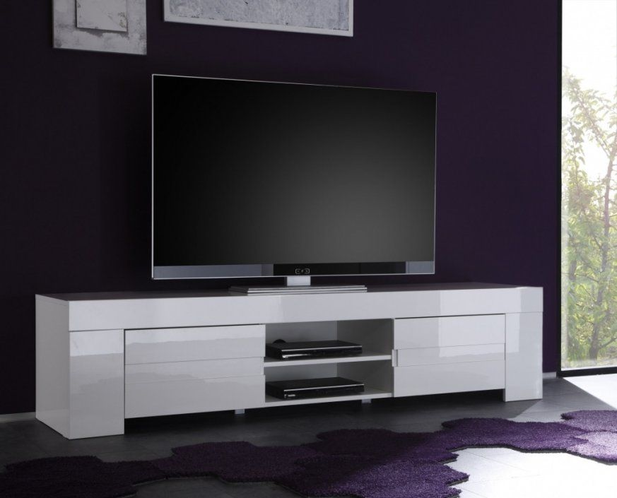 lowboard weiss hangend tv weia hochglanz erstaunlich matt avec von tv board wei hochglanz. Black Bedroom Furniture Sets. Home Design Ideas