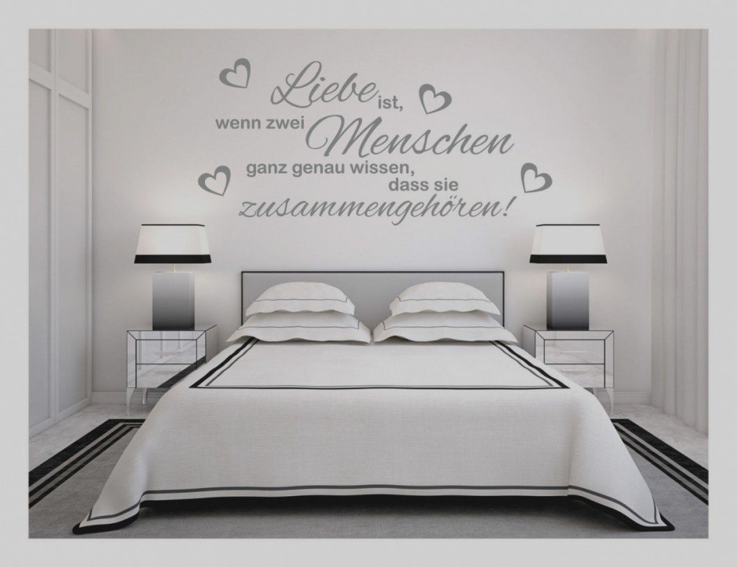 brillant ideen wandtattoos spr che zitate schlafzimmer und. Black Bedroom Furniture Sets. Home Design Ideas