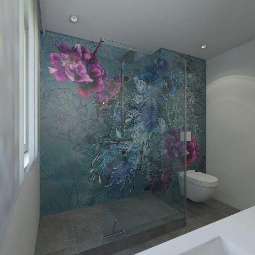 tapete im badezimmer wandtapeten als kreative. Black Bedroom Furniture Sets. Home Design Ideas