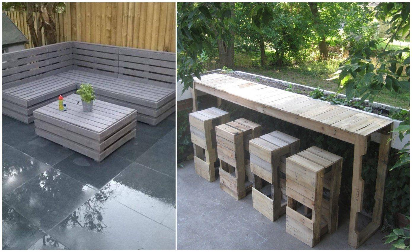 Terrasse Selber Bauen Aus Paletten Haus Design Ideen