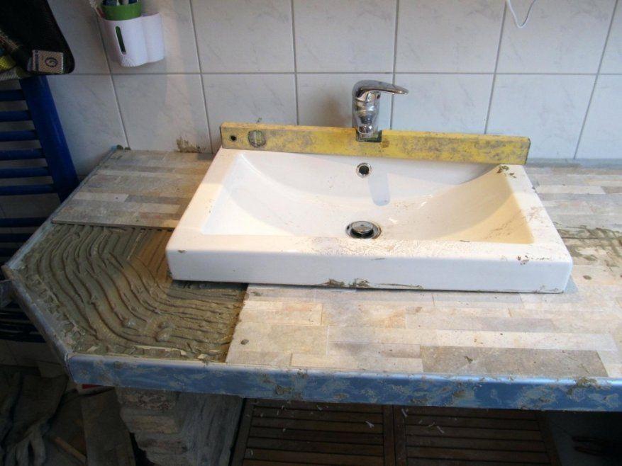 Erstaunlich Waschtischplatte Holz Selber Bauen Waschbecken In von Waschbecken Aus Holz Selber Bauen Photo