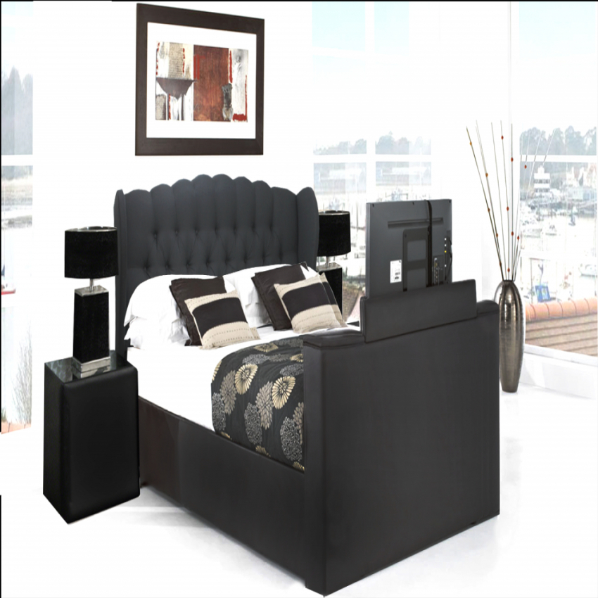 Erstaunliche Inspiration Bett Mit Tv Lift Und Attraktive Tv Bestimmt von Bett Mit Tv Lift Bild