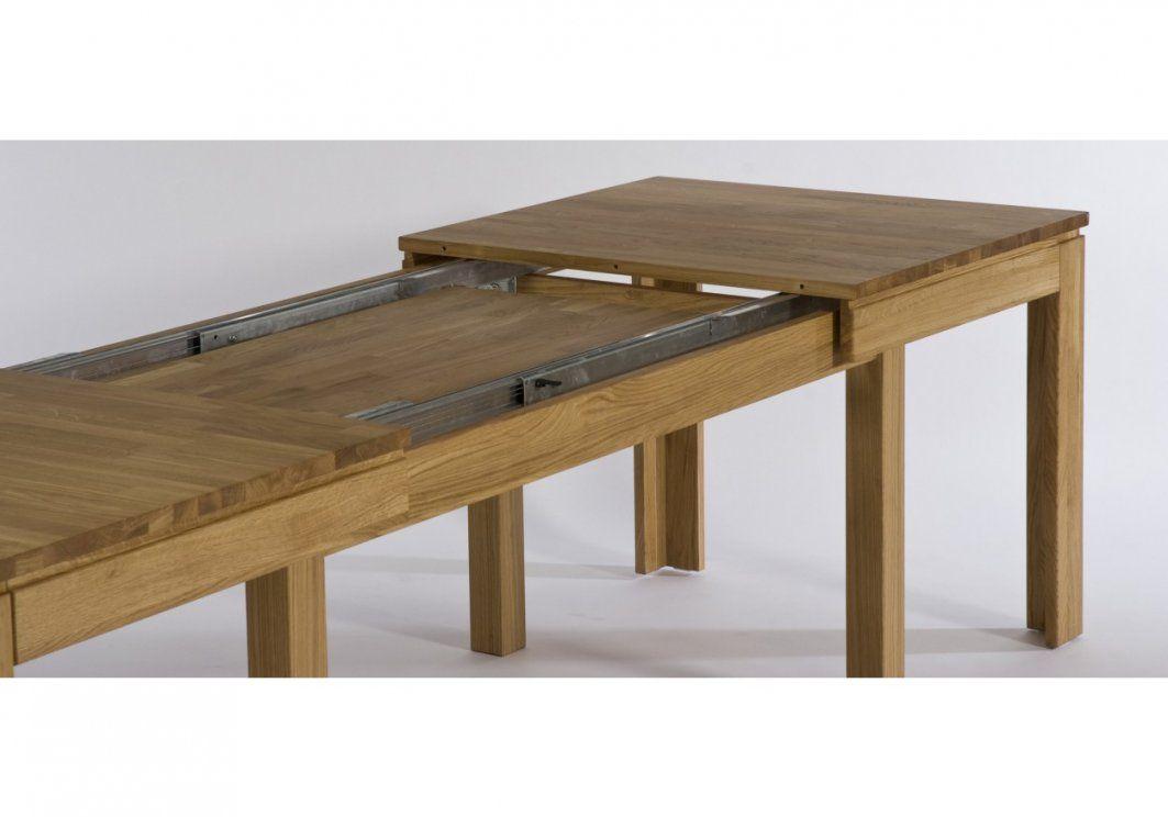 Esstisch Eiche Massiv Ausziehbar  Möbel Ideen 2018 von Ikea Esstisch Eiche Massiv Bild