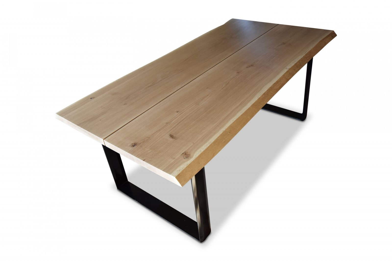 Esstisch Eiche Massivholz Nach Maß Esszimmer Klassisch Modern Design von Tischplatte Outdoor Nach Maß Bild