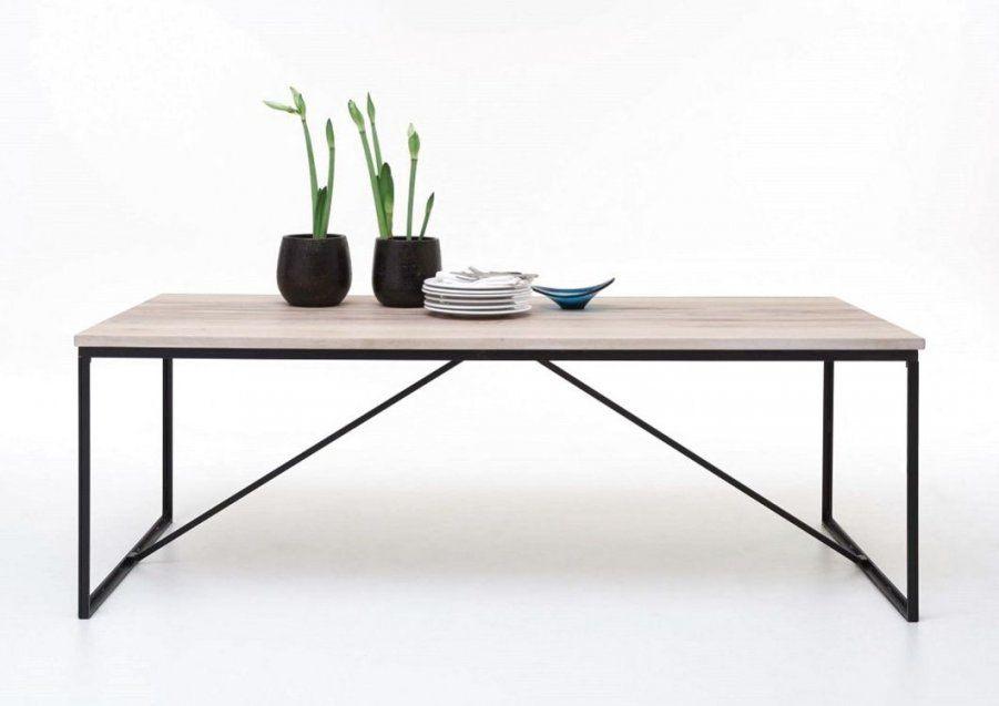 Esstisch Metallgestell Holzplatte  Opstartbaan von Tisch Mit Metallgestell Und Holzplatte Bild