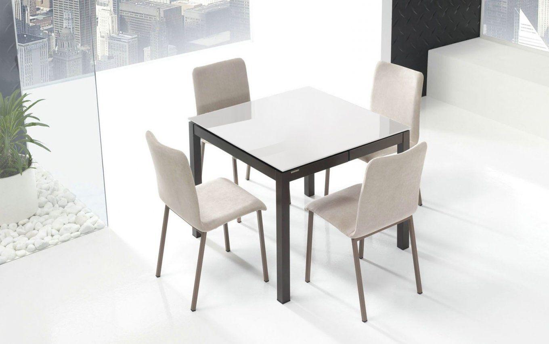 Tisch weiss 80x80 ausziehbar interesting full size of for Designer esstisch 80x80
