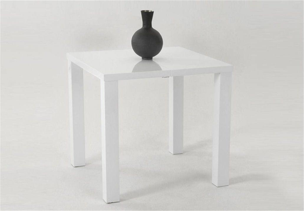 Esstische Mitreißend Weiß Hochglanz Esstisch Design Hervorragend von Esstisch Weiß Hochglanz 80X80 Ausziehbar Bild