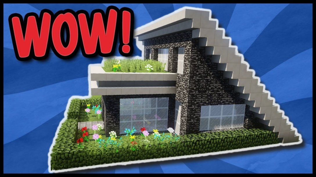 🍕modernes Minecraft Haus Zum Nachbauen  Minecraft Haus Ideen von Minecraft Bauideen Zum Nachbauen Bild
