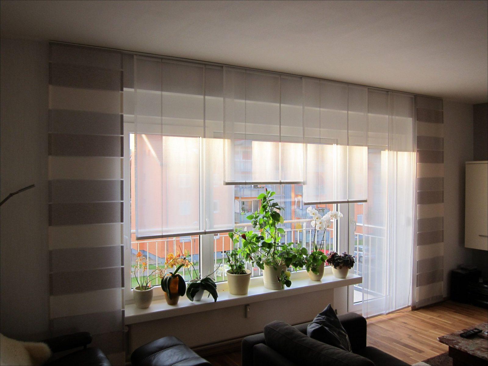 Fabelhafte Gardinen Große Fenster – Cblonline von Moderne Gardinen Für Große Fenster Bild