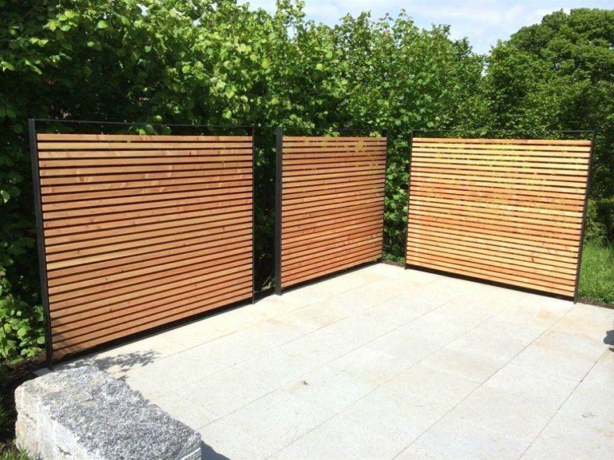 Fabelhafte Holzzaun Selber Bauen Sichtschutz Garten Sichtschutz von Garten Sichtschutz Selber Bauen Bild