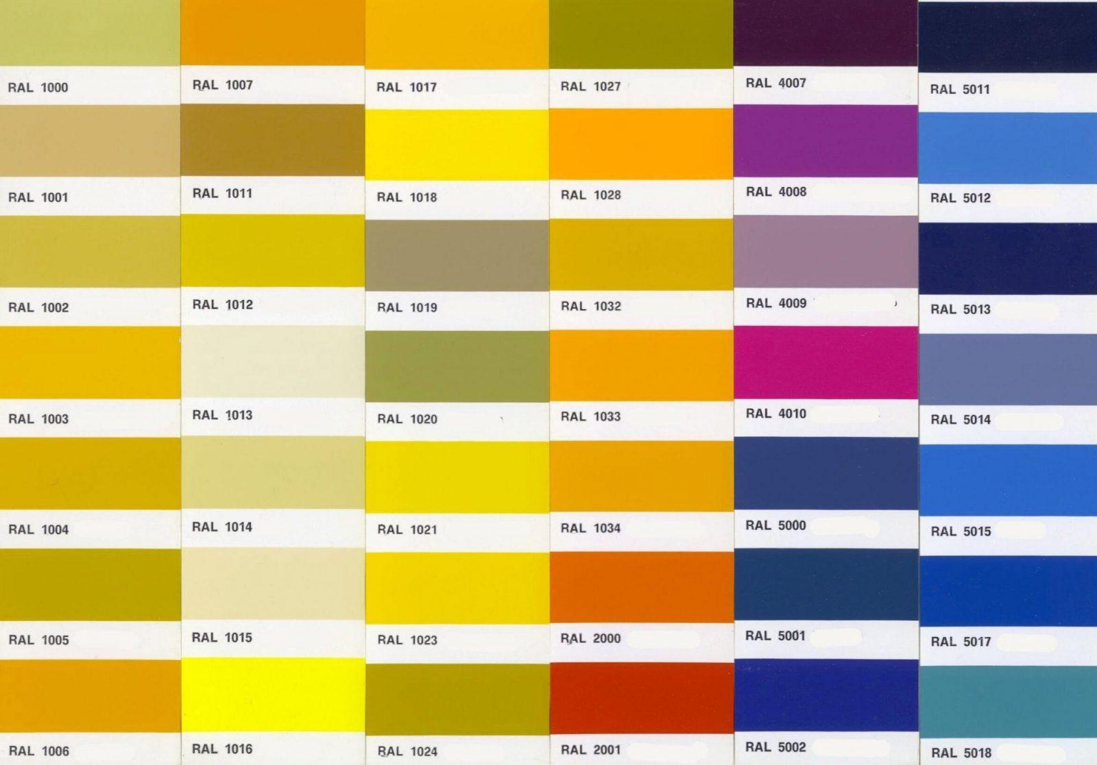 Farben Mischen Tabelle Superb Architektur Bezieht Sich Auf Farben von Ral Farben Mischen Tabelle Photo