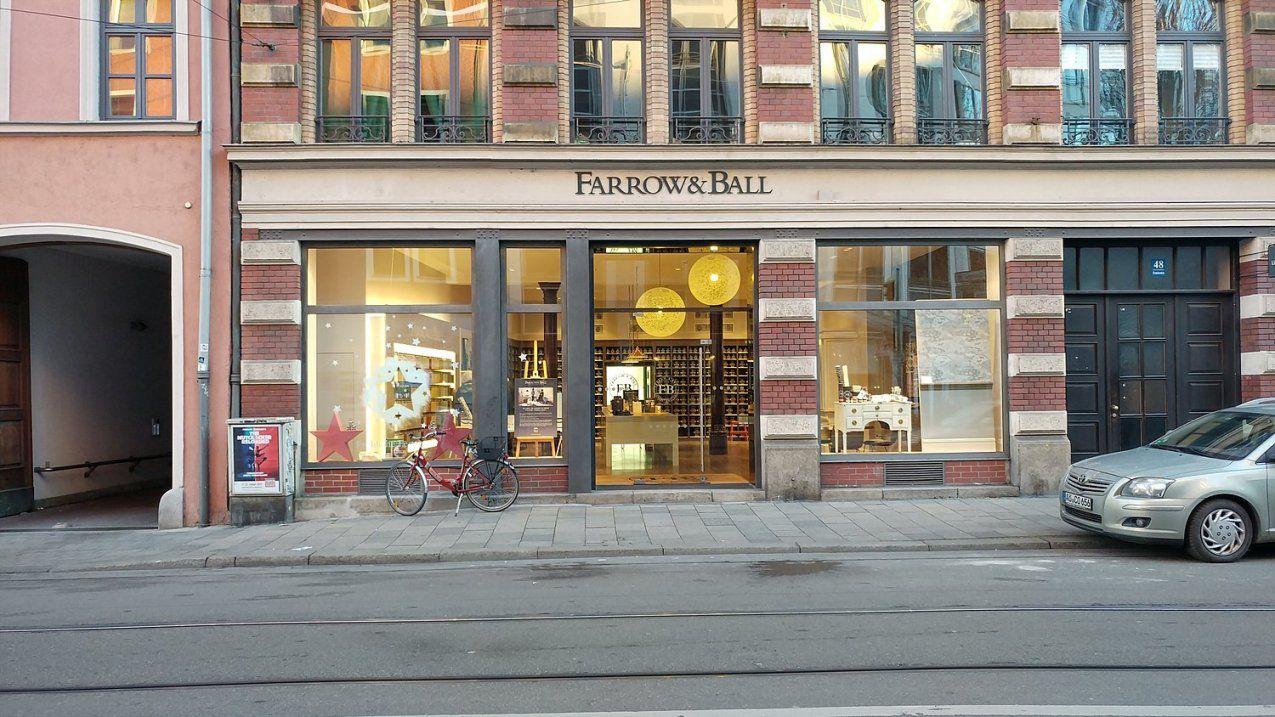 Farrow & Ball Showroom Rumfordstr Glockenbachviertel München von Farrow And Ball München Bild