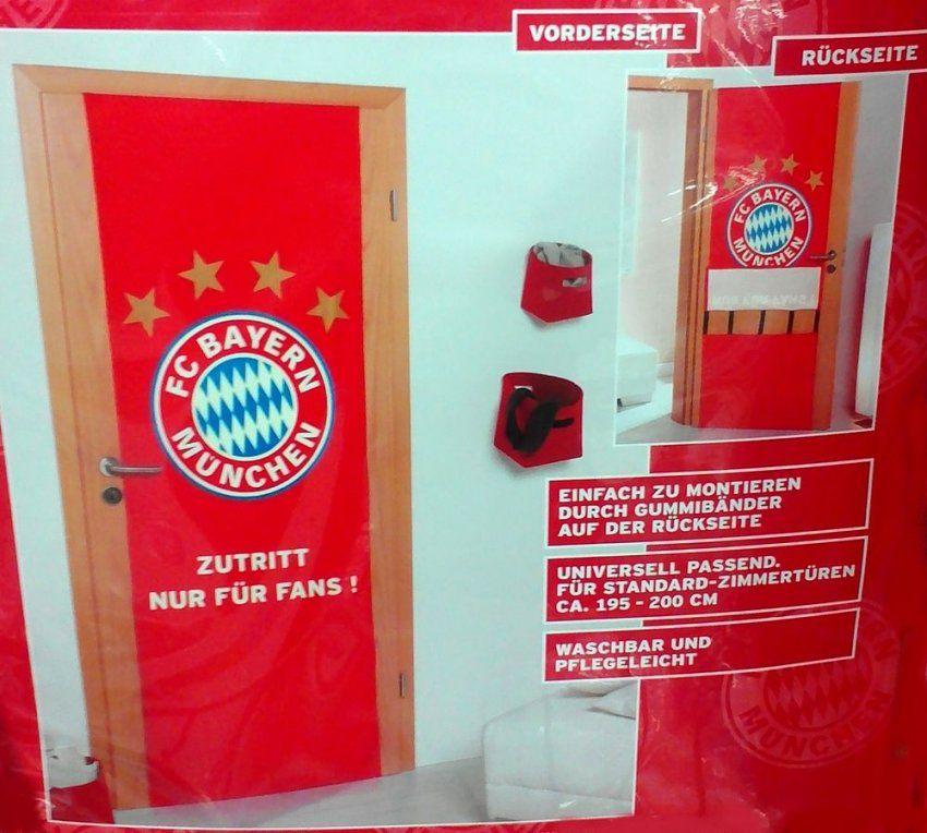 Fc Bayern München Türbezug Stoff Türbespannung 70Cm Breit Höhe 195 von Fc Bayern Stoff Zum Nähen Photo