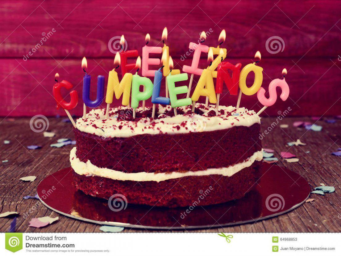 Felizcumpleanos Alles Gute Zum Geburtstag Auf Spanisch Stockbild von Alles Gute Auf Spanisch Bild