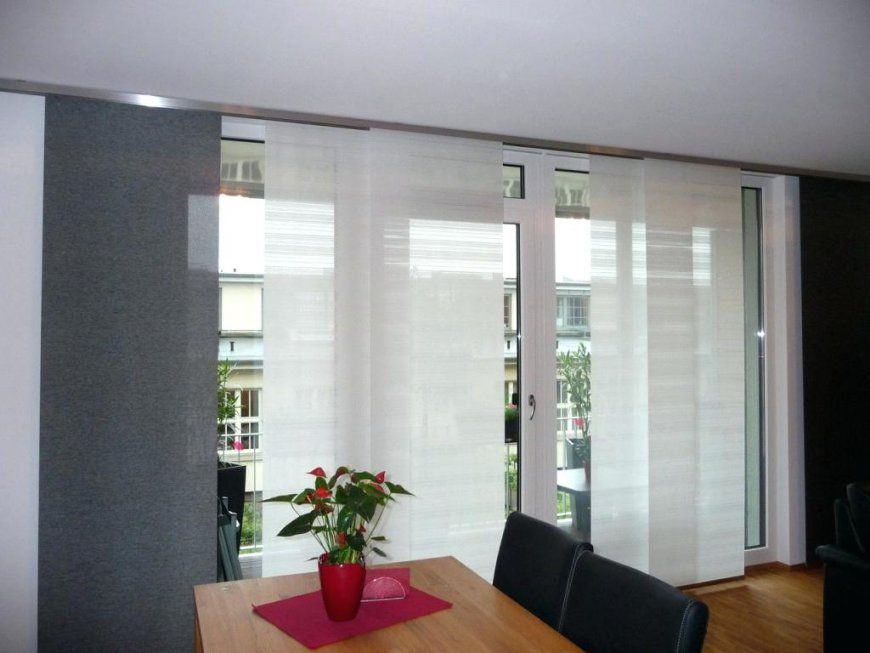 Fenster Dekorieren Ohne Gardinen Full Size Of Moderne von Moderne Gardinen Für Große Fenster Bild