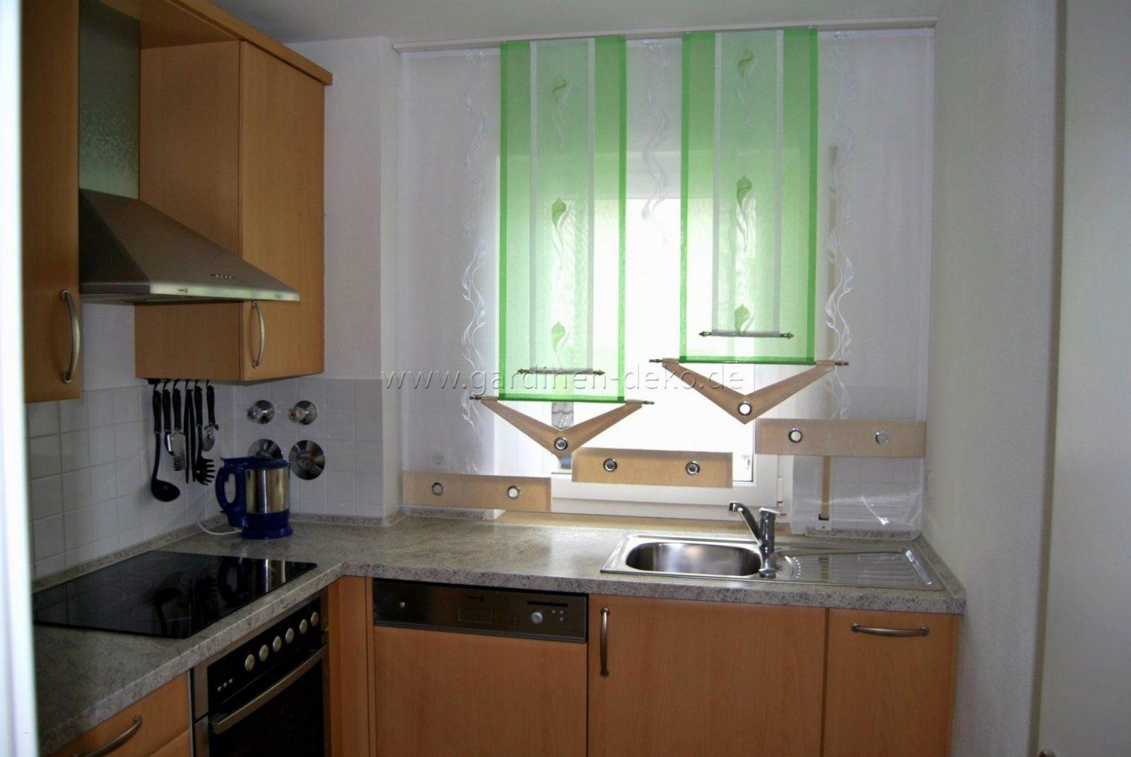 Fensterdeko Küche Modern Schön Küchenfenster Dekorieren Kuechen von Gardinen Für Küche Modern Bild