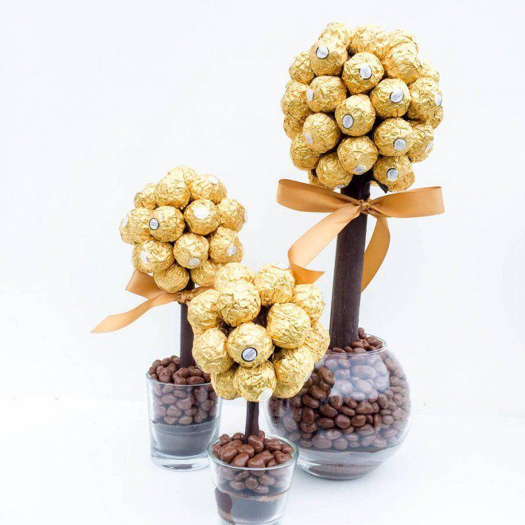 Ferrero Rocher Baum Anleitung Mit Ferrero Rocher Straus Anleitung von Ferrero Rocher Baum Anleitung Bild