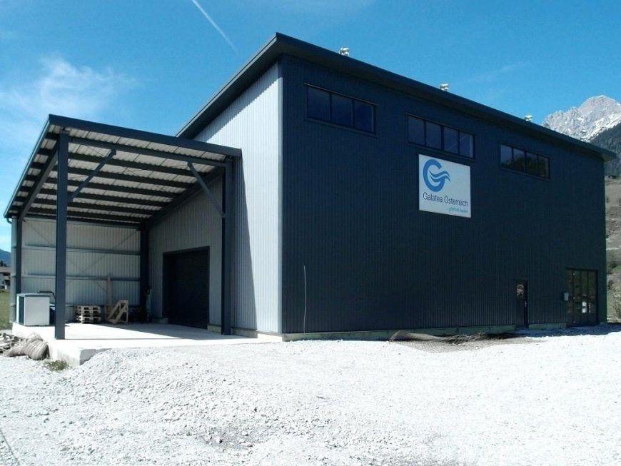 Fertighallen Preise Isolierte Lagerhalle Leogang Fertighalle Kfz von Kfz Werkstatt Bauen Kosten Bild