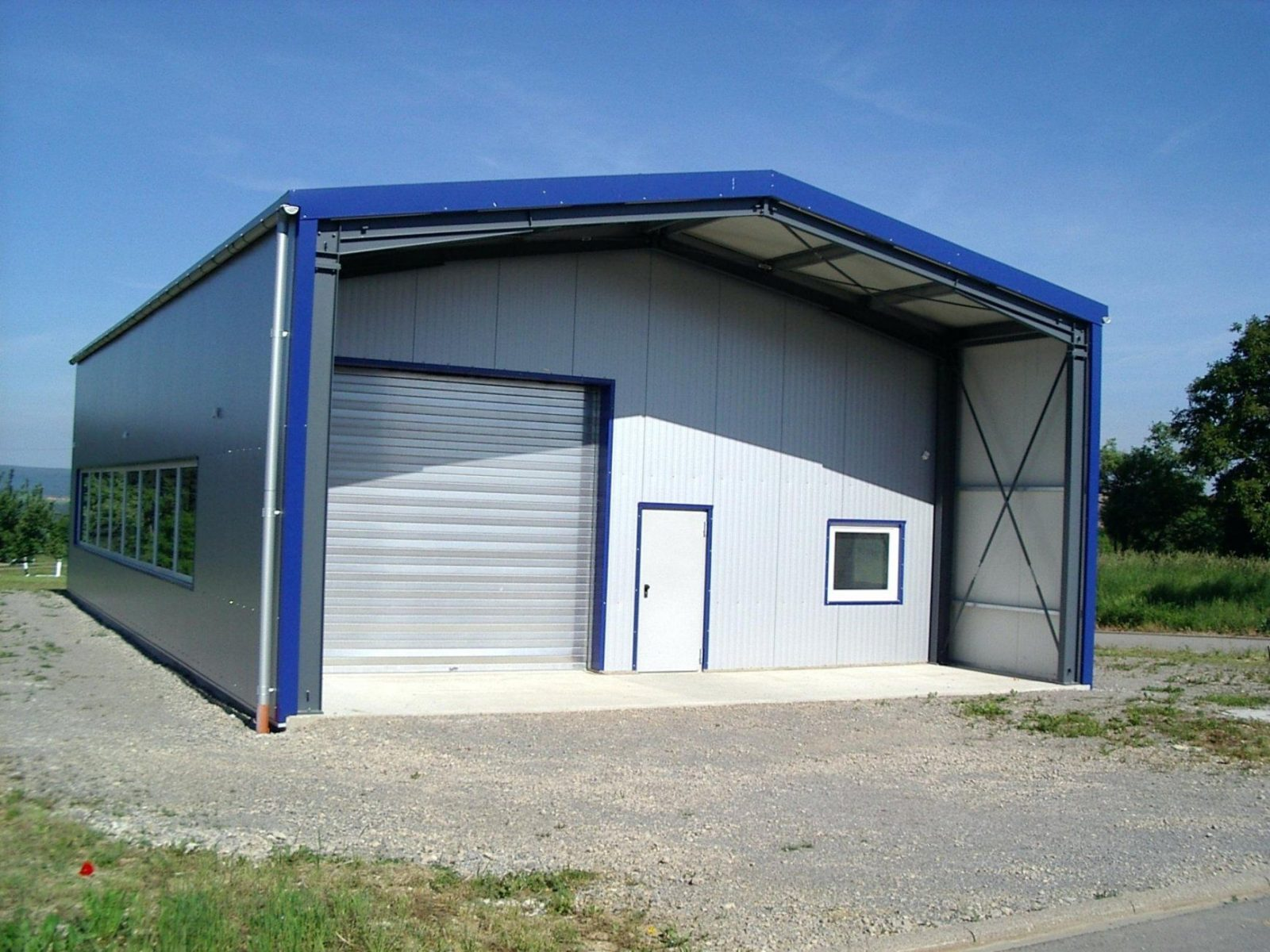 Fertighallen Preise Werkstatt Landwirtschaft Holz Osterreich von Kfz Werkstatt Bauen Kosten Bild