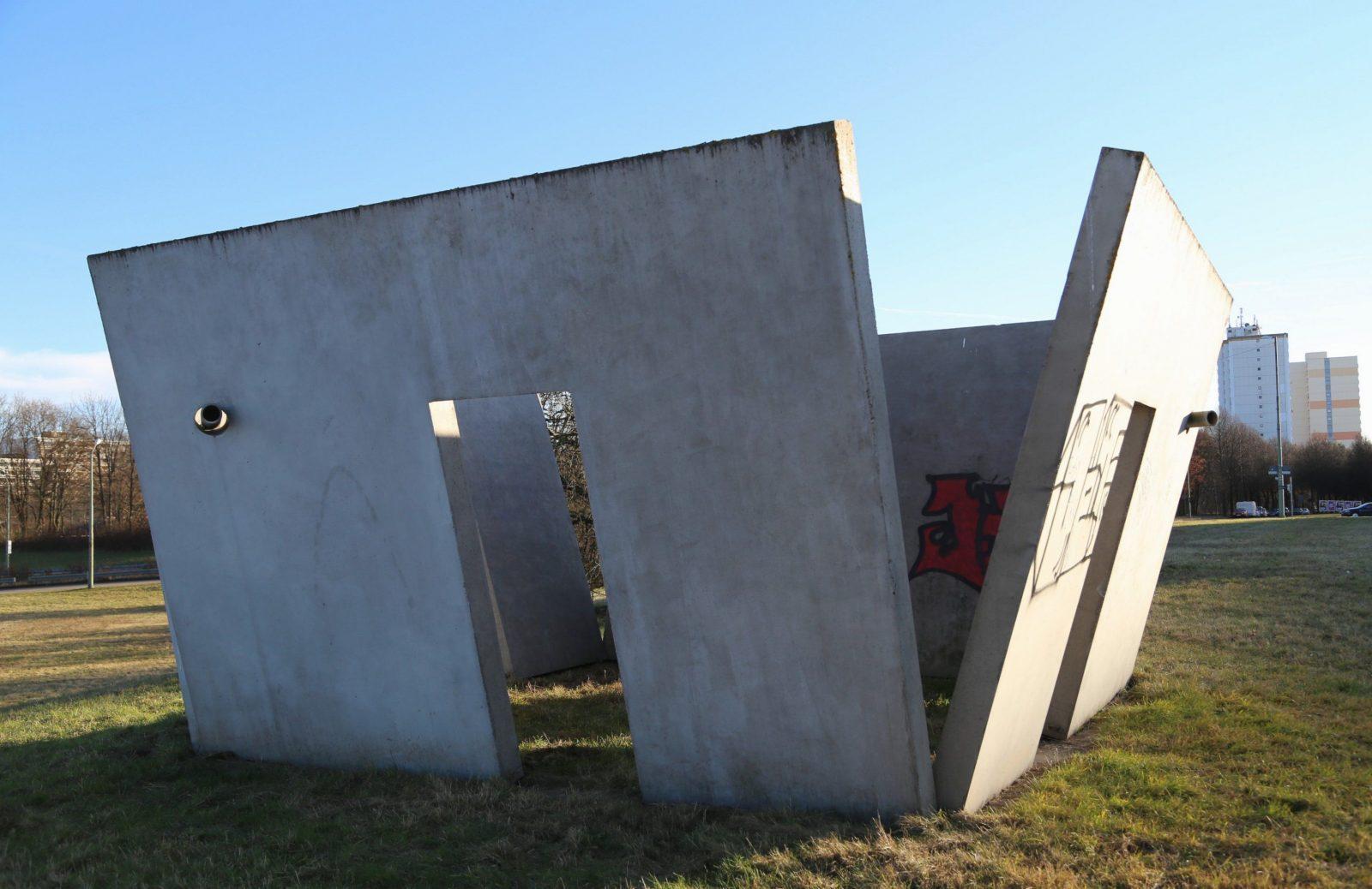 Filekay Winkler Pavillon  Schraege Waende 2003 Staendlerstraße von Bilder Für Schräge Wände Bild
