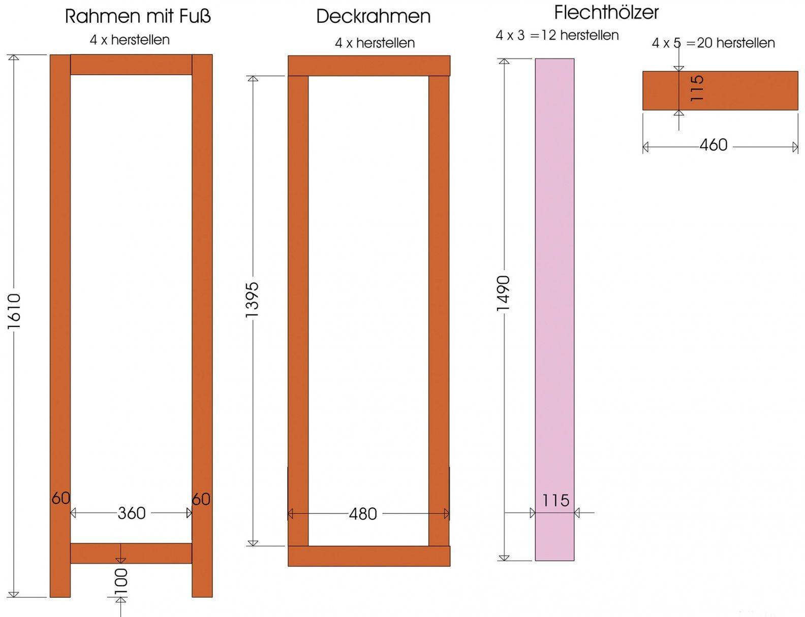 Flexibler Sichtschutz Einen Paravent Bauen  Wohnen von Paravent Selber Bauen Anleitung Bild