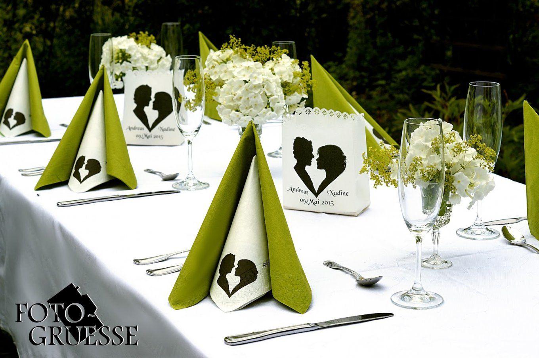 Fotogruesse Diy Servietten Falten Tafelspitz von Servietten Falten Hochzeit Zweifarbig Bild