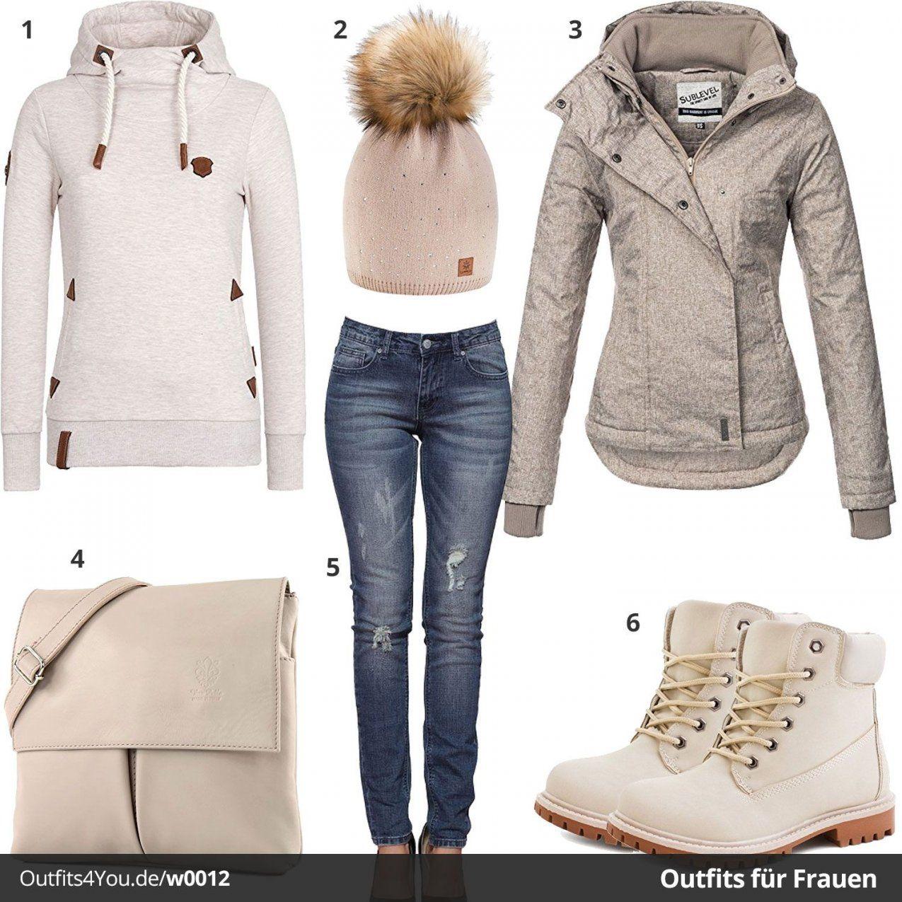 Frauenstyle In Weiß & Beige (W0012  Boote Braun Und Jacken von Welche Farbe Passt Zu Beige Kleidung Photo