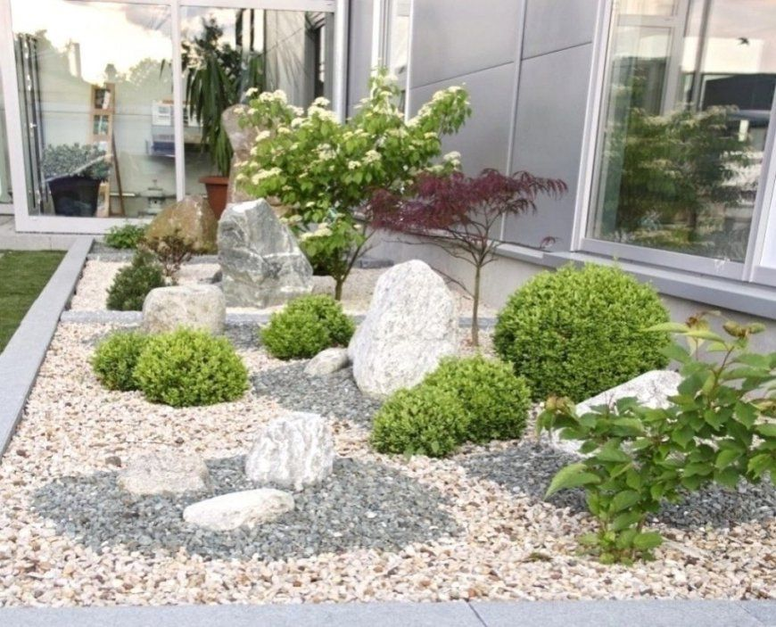 Frisch Gartengestaltung Mit Steinen Und Gräsern Modern  Kpelavrio von Gartengestaltung Mit Kies Und Gräsern Photo