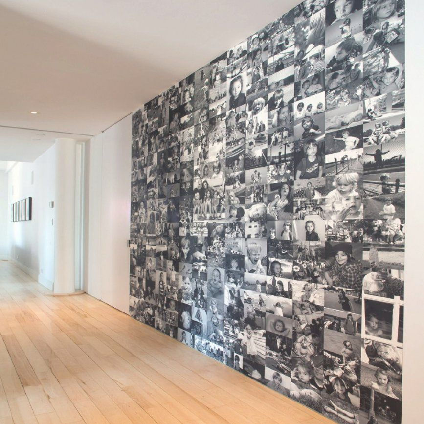 Gallery Wall And Photo Inspiration Ideas  Photo Wall Dads And von Fotowand Selber Machen Stoff Bild