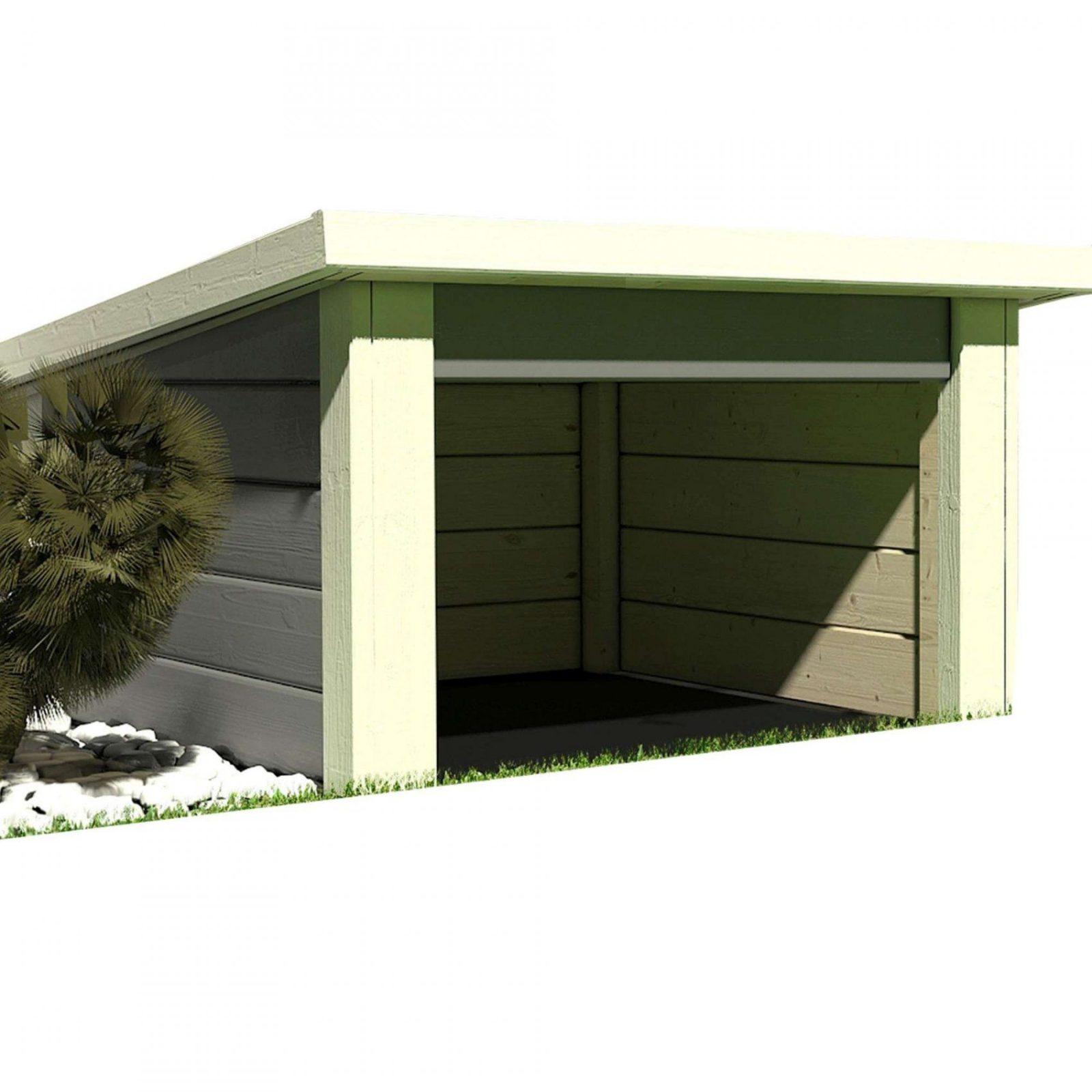 Garage Selber Bauen Cool Foto Oben Garage Selber Bauen Mhroboter von Pultdach Garage Selber Bauen Bild