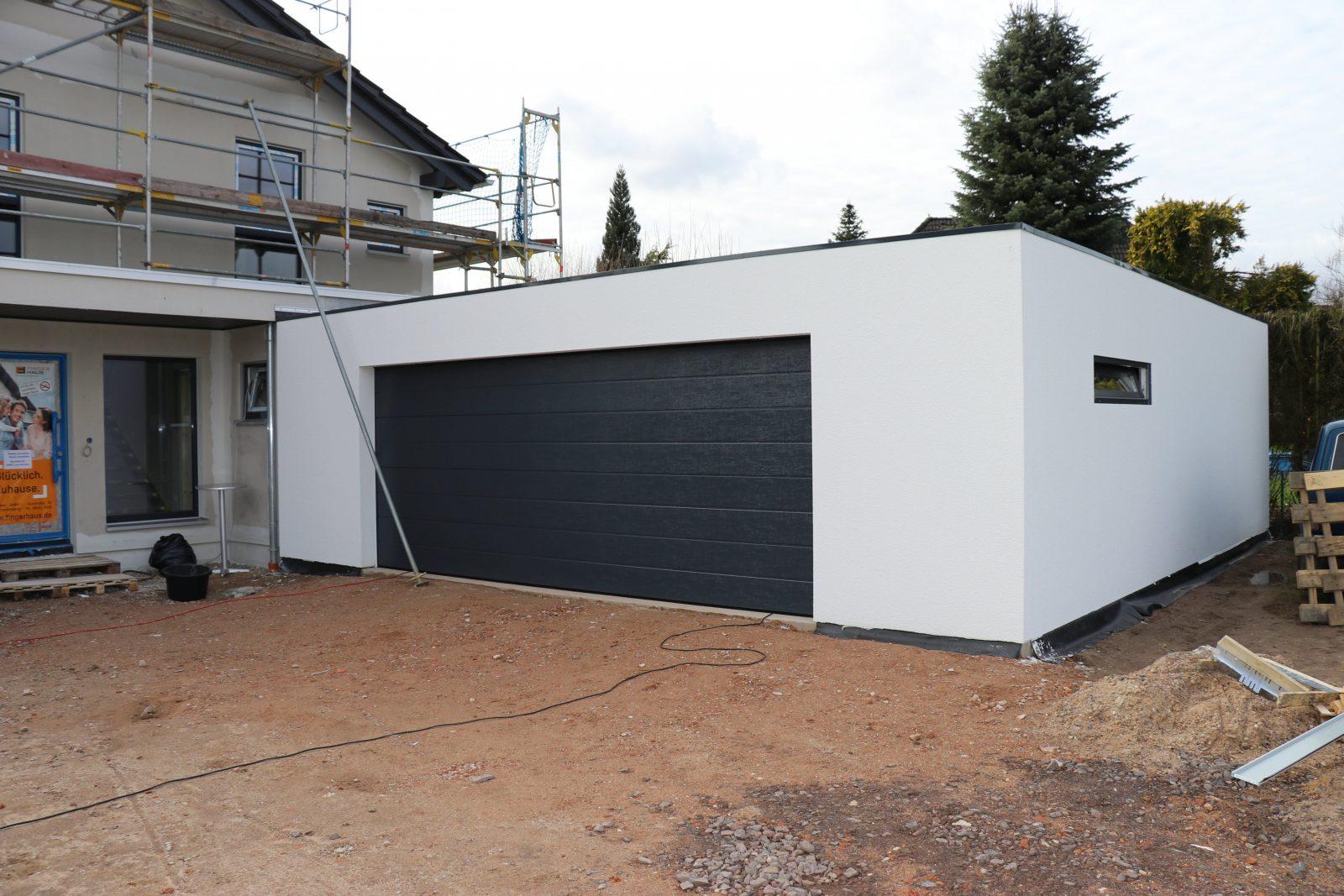 Garagen In Der Holzstanderbauweise Aus Deutschland Von Pultdach