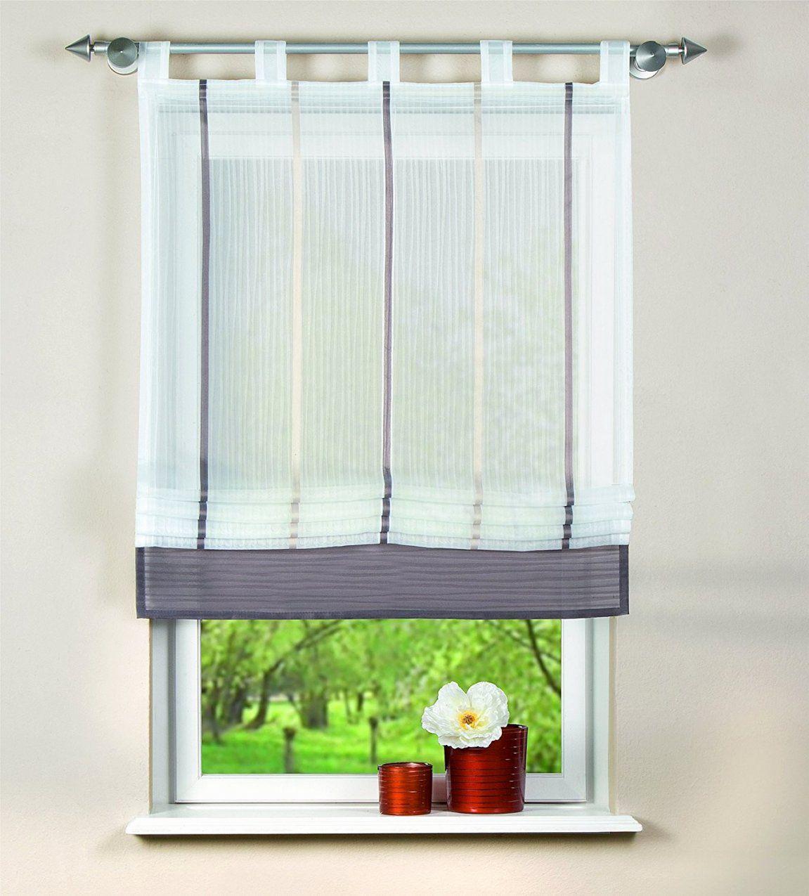 Gardine Für Küche Ideen Neu Küchenfenster Gardinen Modern  Hausplan von Gardinen Für Küche Modern Bild
