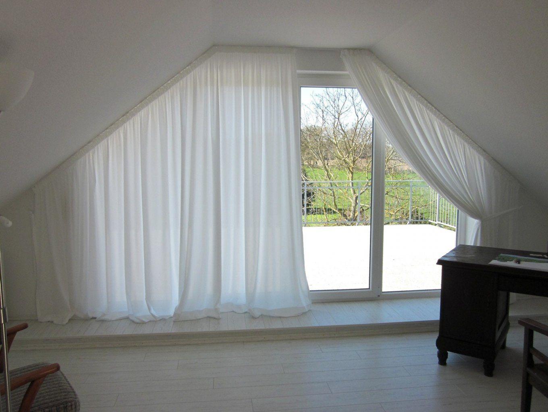 Gardinen Exzellent Gardinen Für Dachschrägen Neueste Gardinen von Gardinen Ideen Für Schräge Fenster Bild
