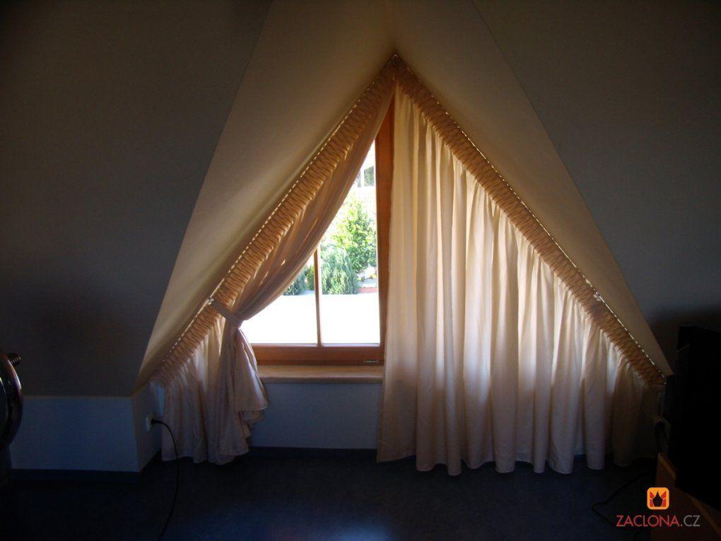 Gardinenbefestigung Schräge  Pauwnieuws von Gardinen Ideen Für Schräge Fenster Photo