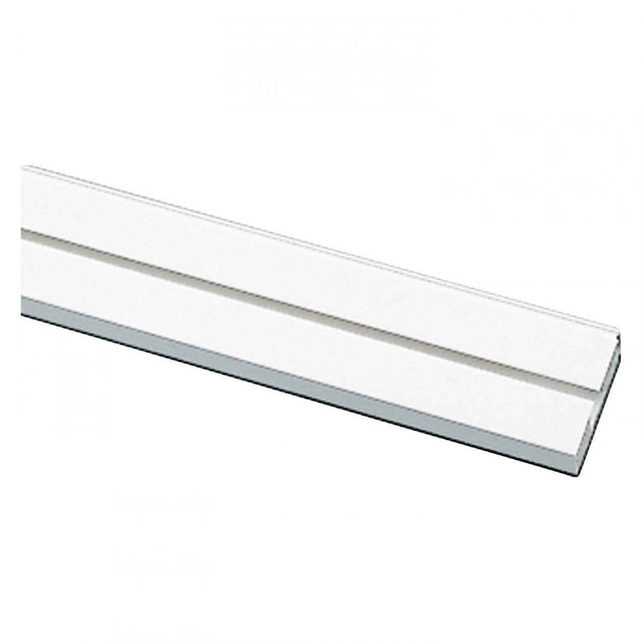 Gardinia Vorhangschiene 1Läufig Ge1 Weiß 300 Cm Kaufen Bei Obi von Gardinenschiene 1 Läufig Deckenmontage Bild
