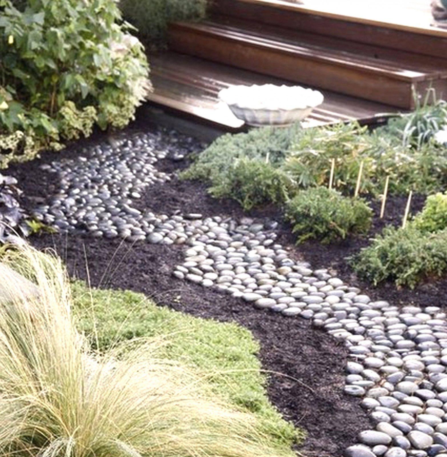Garten Mit Steinen Gestalten Luxus Einzigartig Vorgarten Steinen von Garten Mit Steinen Gestalten Photo