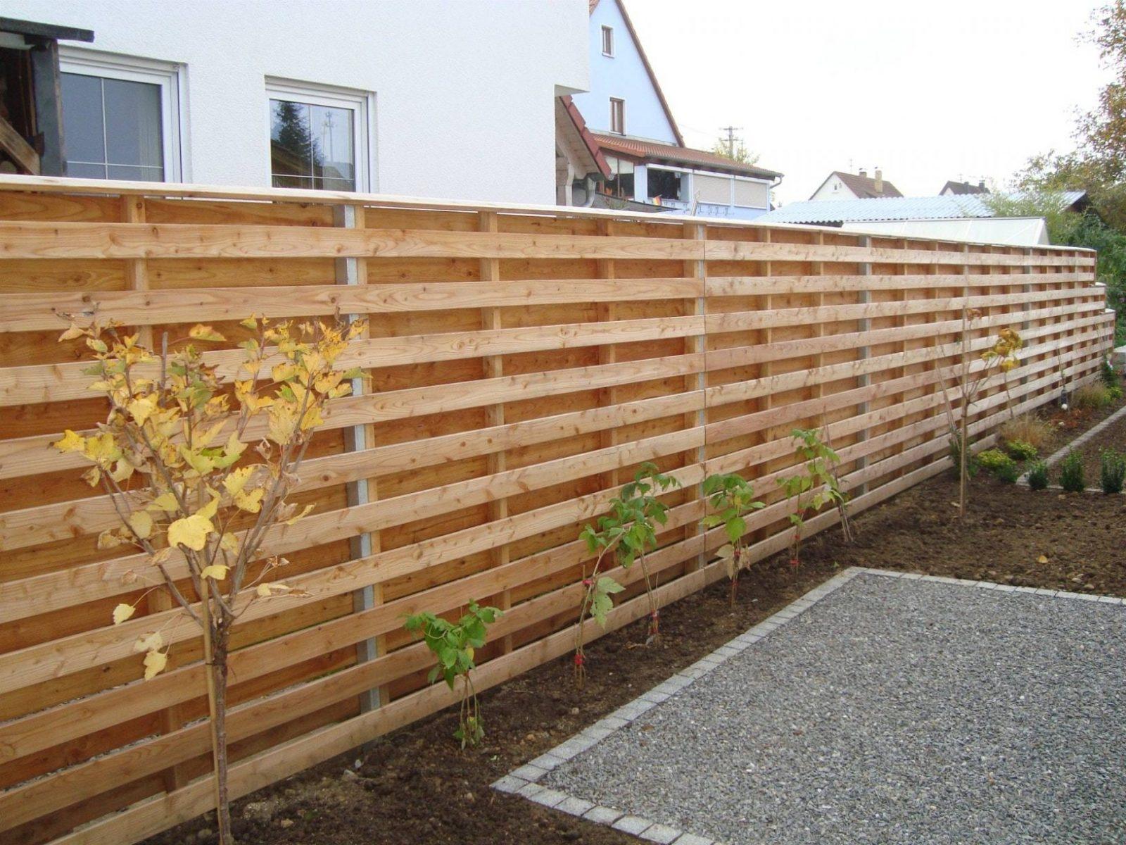 Garten Sichtschutz Selber Bauen Beste Von Stunning Gartenzaun Holz von Garten Sichtschutz Selber Bauen Photo