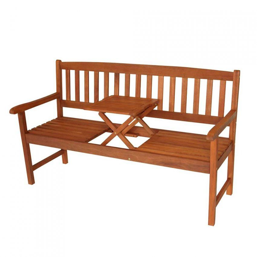 Garten Sitzbank Volpedusa Mit Integriertem Tisch Pharao24 von Gartenbank Holz Mit Integriertem Tisch Bild