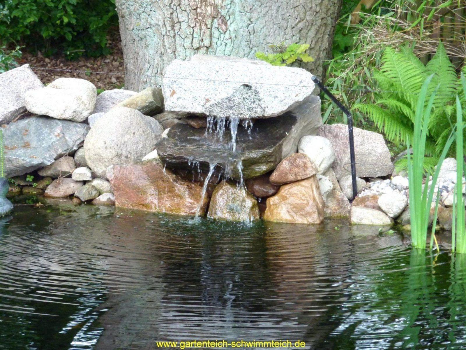 Garten Wasserfall Selber Bauen Im Und Die Harmonie Der Natur von Kleinen Wasserfall Selber Bauen Bild