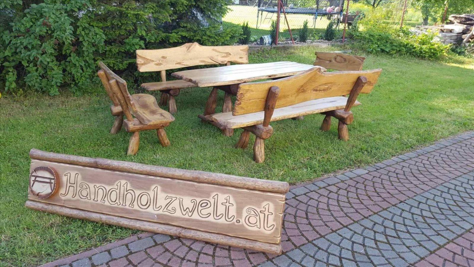 Gartenbank Holz Massiv Rustikal Great Holz Massiv Rustikal von Gartenbank Holz Massiv Rustikal Photo