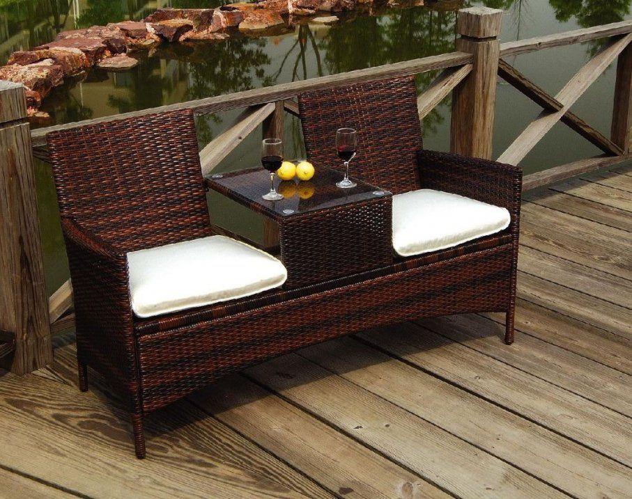 Gartenbank Mit Tisch Günstig Online Kaufen  Real von Gartenbank Holz Mit Integriertem Tisch Photo
