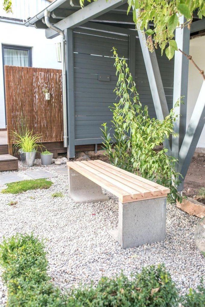 Gartenbank Selber Bauen Ka 1 4 Hles Holz Mit Diy Beton von Gartenbank Selber Bauen Beton Photo