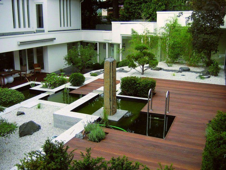 Gartengestaltung Mit Steinen Und Gräsern Modern Einfach On Für von Gartengestaltung Mit Kies Und Gräsern Bild