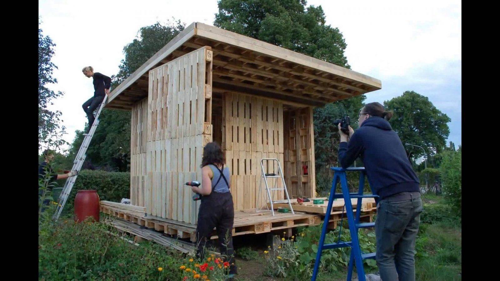 Gartenhaus Am Holstenkamp  Youtube von Gartenhaus Selber Bauen Video Bild